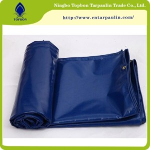 Durable Strong PVC Coated Tarpaulin for Truck Cover at Factory Price
