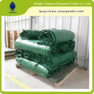 Green High Strength PVC Tarpaulin tarps Manufacturer