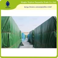 heavy duty green 500gsm pvc tarpaulin