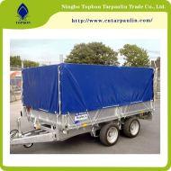 600gsm blue heavy duty tarps for truck