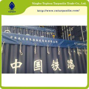 blue 22oz Railway tarpaulin manufacturers