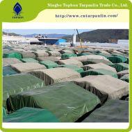 Green 19oz tarpaulin for port cover