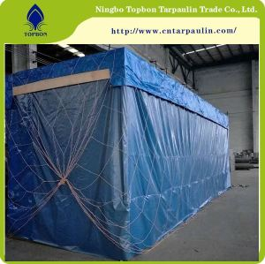 blue 500gsm equipment tarpaulin