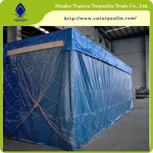 blue 500gsm equipment tarpaulin