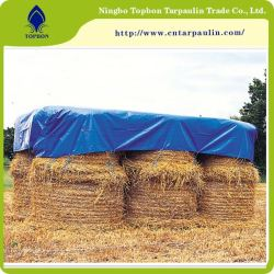blue 500gsm waterproof fabric for hay tarps