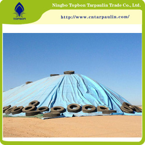 Blue 600gsm heavy duty tarps for goods cover