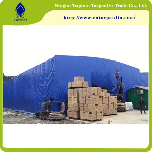 blue 22oz large tarpaulin cover cartons