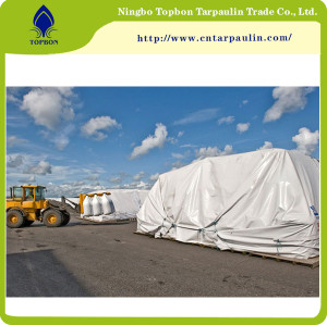 white 800gsm tarpaulin for sale