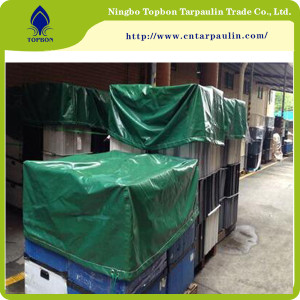 green 500gsm equipment cover