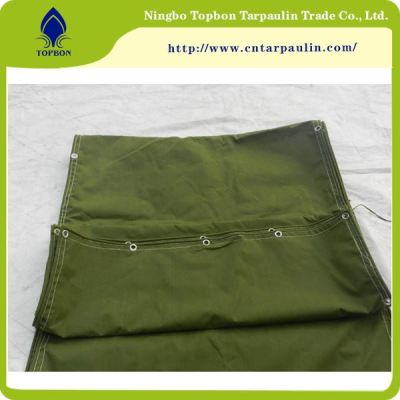 green tarpaulin poly cover for factory
