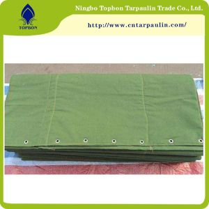 Military cotton canvas tarpaulin