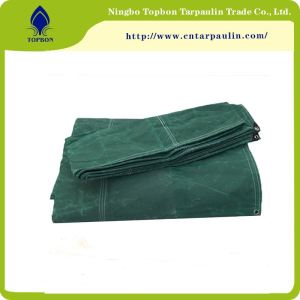 Waterproof Organic Silicon Coating Canvas Tarpaulin
