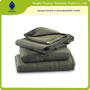 Customized Size Organic Silicon Coating Canvas Tarpaulin