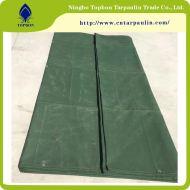 Waterproof Cotton Canvas Fabric Poly Tarpaulin Cover Tarp