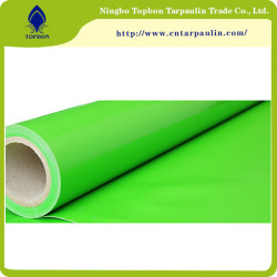 green 800gsm pvc coated tarpaulin for inflatable boat fabric
