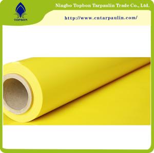 yellow 1200gsm PTFE Fiberglass Membrane Material