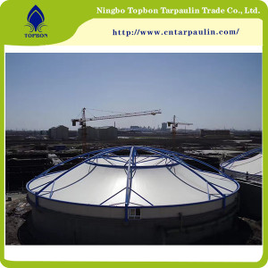 900gsm PTFE Coated Fiberglass Architectural Membrane Tentile Fabric