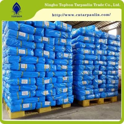 100% blue/blue Polyethylene tarpaulin pe covers