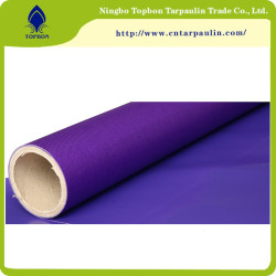 Dark blue 610GSM PVC knife fabric