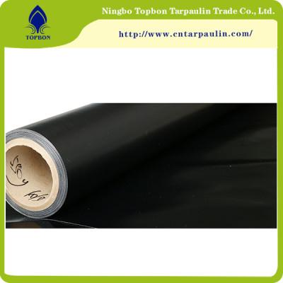 black color 610GSM UV PVC Waterproof cloth