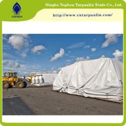 white 650gsm cargo tarpaulin