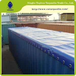 bule color 23oz railway container tarps