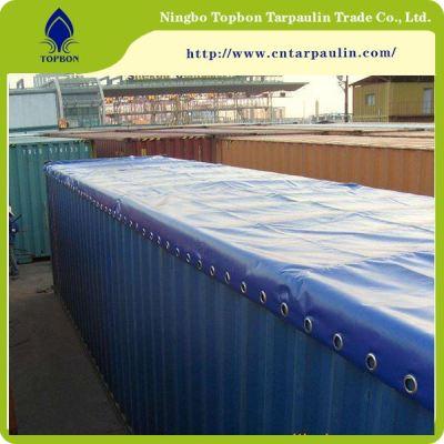 bule color 23oz railway container tarps