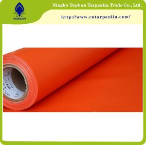 orange 1000D 550gsm pvc coated truck tarpaulin