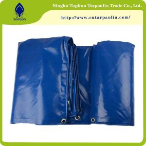 Blue tarpaulin for truck
