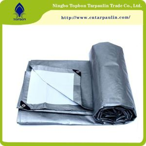gray/white 200gsm tarpaulin for truck cover