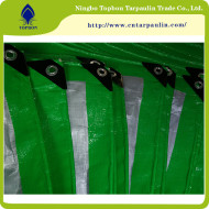green/white 160gsm HDPE Tarp for boat cover