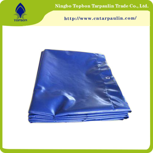 yellow tarpaulin pattet cover