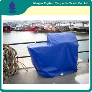Widely Used Camouflage Camping Blue Pe Tarpaulin Packed In Rolls