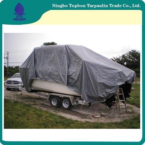 Blue Pe Tarpaulin Packed In Rolls