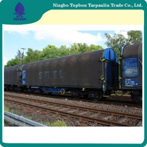 50gsm-300gsm Korea Pe Tarpaulin With Uv Treated For Railway Cover