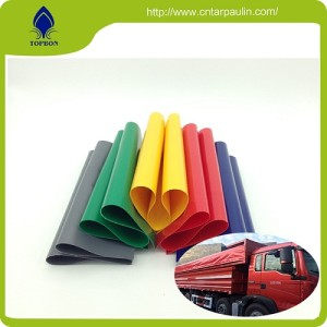 Hot Sale Pvc Coated Fabric Tarpaulin One of the best Truck waterproof performance