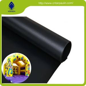 China Manufacturer Pvc Coated Fabric,Waterproof Pvc Tarpaulin For  Inflatable castle