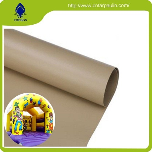 Hot Sales Pvc Coated Fabric For PVC inflatable castle waterproof tarpaulin
