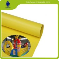 2*1 Blue Color Pvc Coated Polyester Mesh Te Xtilene Fabric For Inflatable castle