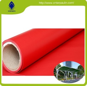 Good quality high strength durable pvc custom printed tarps