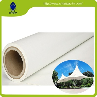 Outdoor advertising banner pvc pure white coated backlit banner