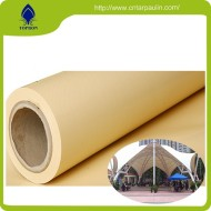 100% PVC coated or laminated polyester Banner tarps fabric rolls