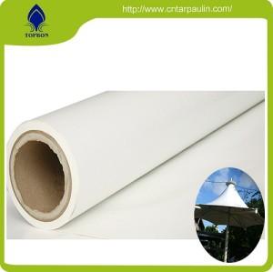 Long service life of PVC tarpaulin