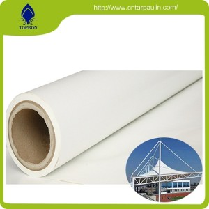 Waterproof Pvc Coated Fabric Tarpaulin Product