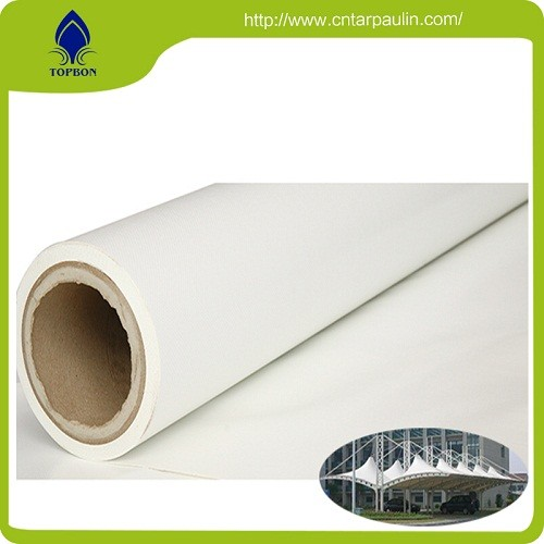 Pvc Tarpaulin Striped Awning Fabric For Carport