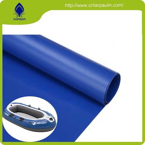 240t Polyester Pongee With Pvc Coated Fabric For Inflatable Boat Fabric