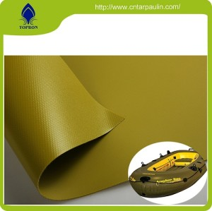 One of the best  PVC Coated Boat waterproof performance