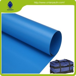 Heat Sealed Weather Resistant PVC Coated Tarp Fabric