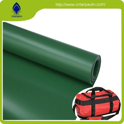 Durable High Tenacity Polyester PVC Coating Fabric Tarp
