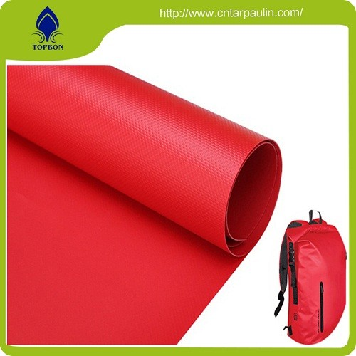Good quality red pvc fish pond coated fabric tarpaulin